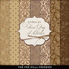 Far Far Hill - Free database of digital illustrations and papers: New Freebies Kit of Backgrounds - First Day of Oct...