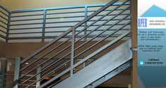 Where our European-trained craftsmen custom manufacture railings, staircases, gates, decks, fences and other custom metal work. Stair Railing Design, Staircase Railings, Staircases, Stairs, Custom Metal Work, Custom Metal Fabrication, Apex Design, Metal Gates, Metal Projects