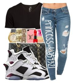 """*"" by princess-kia54321 ❤ liked on Polyvore featuring H&M, Retrò, women's clothing, women, female, woman, misses and juniors"