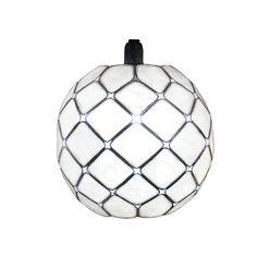 Diamond Pearl Capiz Globe