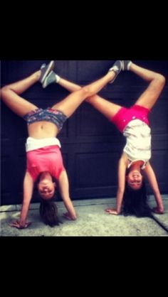 two person acro stunts gymnastics  things we love