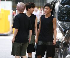 Himchan's back, Youngjae & Jongup ♡