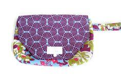 Floral Diaper Clutch - Diaper Bag - Diaper Holder - Baby Shower Gift - SKU: