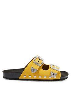 Shoes | Women's Shoes  | Falcon Buckle Slider Sandals | Hudson's Bay