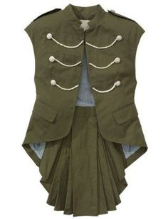 military vest women