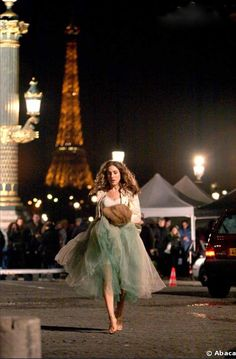 Carrie in Paris.