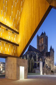 Market+Hall+in+Ghent+/+Marie-José+Van+Hee+++Robbrecht+&+Daem