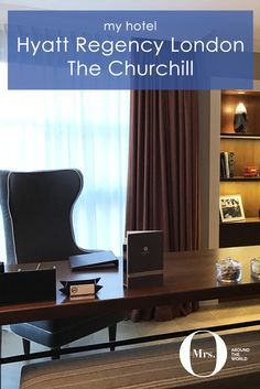 The Regency King Suite at the Hyatt Regency London offered a spacious living room, with a separate seating and working area. The decor was in a variation of grey, with warmer colours mixed in. The hotel has been refurbished with the help of Winston Churchill's family, so you will find a lot of memorabilia throughout.