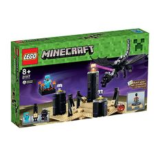 LEGO.com Minecraft Home - Products - The Ender Dragon