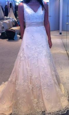 New With Tags Alfred Angelo Wedding Dress 2251, Size 2    Get a designer gown for (much!) less on PreOwnedWeddingDresses.com