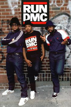 Run DMC - Wall Poster at AllPosters.com Hip Hop And R&b, 90s Hip Hop, The Stylistics, Skate Party, 80s Party, Vintage Black Glamour, Cultural Appropriation, Soul Train, Black Pride