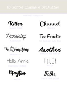 I am such a sucker for pretty fonts. Collecting them is a bit of a hobby for me, and it takes all of my willpower not to use 50 different fonts here on AGO. (Can you imagine? It would be a nightmare o Free Font Design, Web Design, Graphic Design, Type Design, Pretty Fonts, Beautiful Fonts, Nice Fonts, Awesome Fonts, Blog Fonts