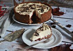 Czekoladowe ciasto z herbatnikami i kawowym kremem Mascarpone - bez pieczenia | fooddiary.pl