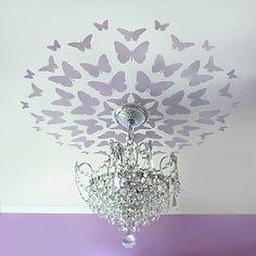 lavender butterfly medallion!