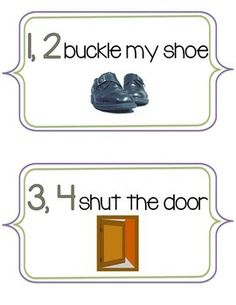 Coloring pages one two buckle my shoe speakaboos worksheets