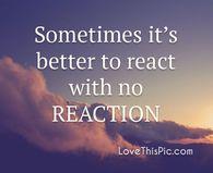 Sometimes it's better