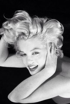 Marilyn. Like a candle in the wind.