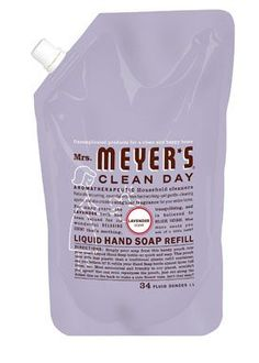 Mrs Meyers Liquid Hand Soap Refill Lavender 33 oz 6 pack * Continue to the product at the image link.