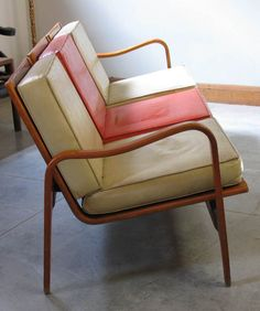 Anonymous; Bentwood Sofa by Thonet, 1940s.