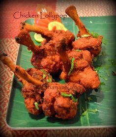 LOVE TO COOK: Chicken Lollypop (dry)