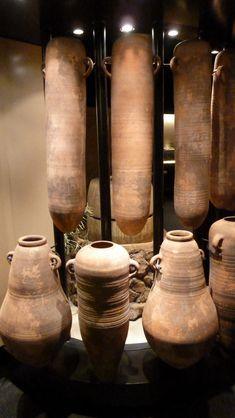 Vasijas Fenicias para aceite y vino