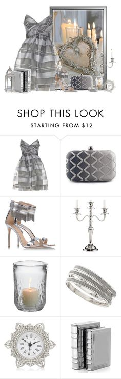 """""""light of candles"""" by concettodimoda ❤ liked on Polyvore featuring SUEDE, Gianvito Rossi, Leeber Limited, Simon Pearce, Wallis, Forever New and Zara Home"""