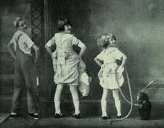 Vaudeville act with Rose Louise (Gypsy Rose Lee) and June Hovick (June Havoc), ca. 1925