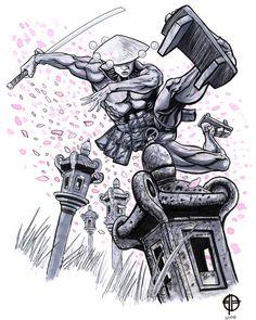 Robotika fan art by deviantArt user BrettBarkley http://brettbarkley.deviantart.com/art/Robotika-Sketch-96192868