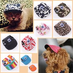 FREE Worldwide SHIPPING! RP$23.80 NOW $14.80 Pet Cute Visor Cap Did you know you need to protect your pets' eyes from sun too? Just like us, dogs and cats are susceptible to sun damage while enjoying the sun. Get this cute and fashionable visor cap specially designed to protect our pets from nasty sun and also to look attractive. It is breathable, comfortable and has two holes for the ears. It also features adjustable strap to hold the cap in place.  Specifications   Material: Canvas …