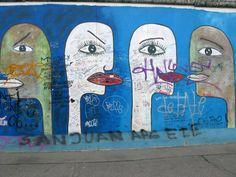 East Side Gallery East Side Gallery, Skateboard, Berlin, Germany, Painting, Art, Craft Art, Skate Board, Paintings