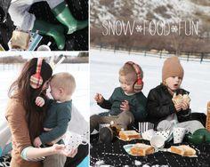 Winter picnic: Snow Food Fun!