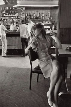 Isabelle Huppert photographed by Robert Doisneau