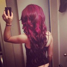 Considering attempt two on red hair Hair Inspo, Hair Inspiration, Hair Heaven, Red Hair Color, Red Colour, Pretty Hairstyles, Red Hairstyles, Big Hair, Hair Dos