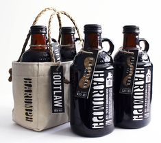 """Harumph! is a package design and brand for a fictional beer company."" Darn... I wanted to try it..."