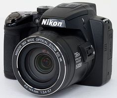 Nikon Coolpix P500--Just bought this...I hope I can figure out how to use it! :)