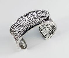 SILPADA Sterling Silver Woven Mesh Cuff Bracelet B1625  #Silpada #Cuff #SilverCuff #SilpadaCuff #SterlingCuff #Modernist