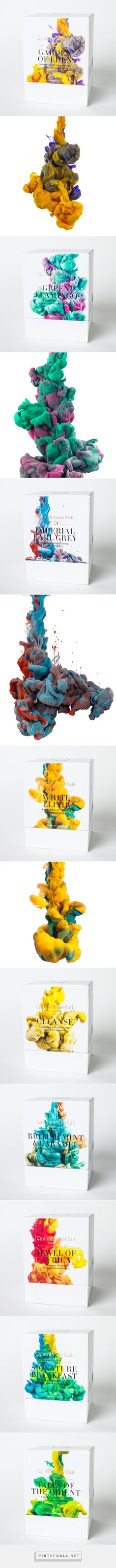 Quinteassential packaging on Behance by Alberto Seveso curated by Packaging Diva PD. Using science and art, Quinteassential brings to you a multi-sensory experience in the enjoyment of tea from renowned artist and photographer Alberto Seveso.
