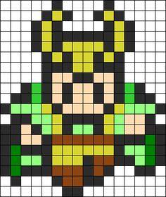 Loki Perler Bead Pattern / Bead Sprite