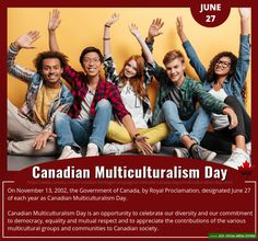 BANNERS: Canadian MULTICULTURALISM Day! | June 27