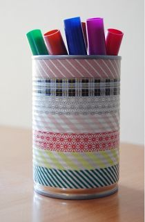 Washi Tape Classroom Decorative Ideas for Back-to-School