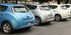 Nissan LEAF Fleet in Indianapolis, USA