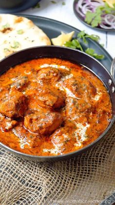 Butter chicken recipe with stepwise pictures. How to make restaurant style Indian butter chicken Chicken Butter Masala, Butter Chicken Rezept, Butter Chicken Sauce, Indian Butter Chicken, Butter Masala Recipe, Chicken Tikka Masala, Indian Food Recipes, Asian Recipes, Clean Eating Recipes