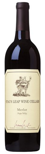 In stock -  39,– € 2006 Stag´s Leap Cellar Merlot, red dry , USA - 87pt Deep ruby-red colour of the wine with clear red rim. This wine will impress you with its intense arom aof sour cherries, plums and wild strawberries, underlined by spici perception of vanilla, white pepper and cinnamon in the end. This aromas turns into taste, where are enriched by touch of milk chocolate. Wine has nice structure with soft tannins.