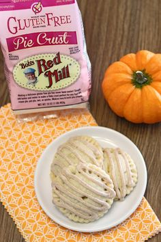 gluten free vegan pumpkin hand pies + bob's red mill gluten free pie crust