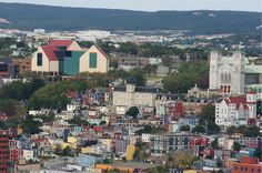 10 places you never thought you'd visit St. John's, Newfoundland The oldest city in North America Newfoundland And Labrador, Old City, East Coast, San Francisco Skyline, Paris Skyline, North America, Dolores Park, Canada, Places