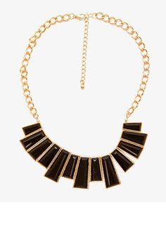 Faux Gemstone Bib Necklace | FOREVER21 - 1046678815