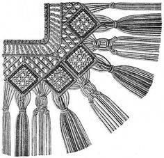 FIG. 601. FRINGE WITH CORNER.