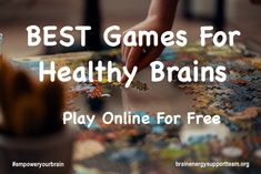 There are so many benefits to playing a game. Games reduce stress and, also, reduces blood pressure through the release of endorphins. It's so important, especially with the added challenges and change brought on by the COVID pandemic, to make the effort to be engaged with others as best we can. And we've got a game page just for you! Visit our website to play. #empoweryourbrain