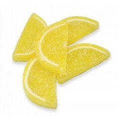 lemon slice candy Jelly Slice, Fruit Slice, Lemon Wedding Cakes, Lemonade Mouth, Pink Lemonade Party, Lemon Art, Yellow Candy, Candied Lemons, Candy Decorations