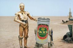 R2F2 and C3PO Lager Beer, Best Beer, Statue Of Liberty, R2 D2, Princess Zelda, Fictional Characters, Ale, Statue Of Liberty Facts, Statue Of Libery